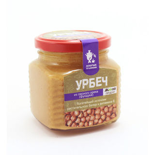 Урбеч Добрые традиции из лесного ореха, 200 гр