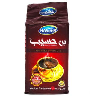 Арабский молотый кофе Haseeb medium с кардамоном, 500 гр