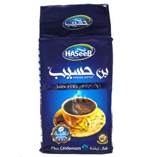 Арабский молотый кофе Haseeb plus с кардамоном, 500 гр