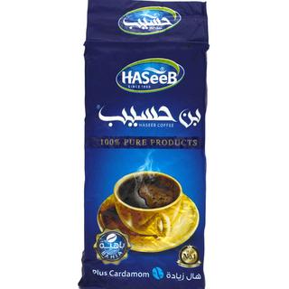 Арабский молотый кофе Haseeb plus с кардамоном, 200 гр