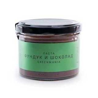 Паста GreenMania фундук и шоколад, 200 гр